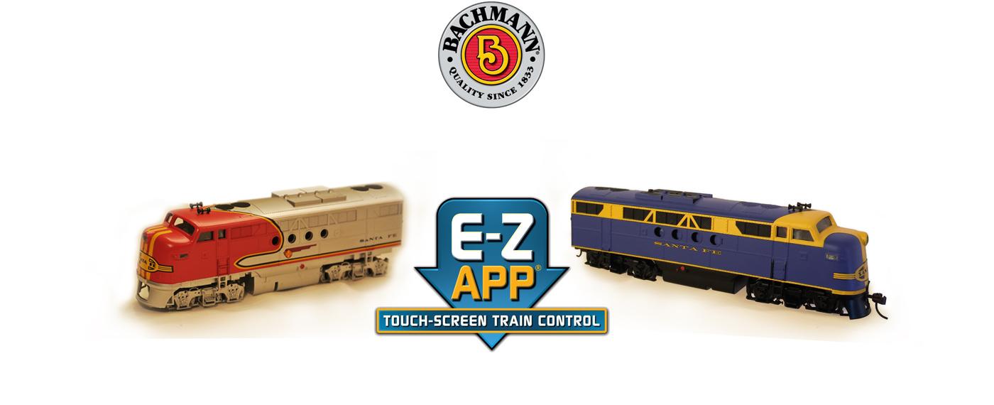 E-Z App® Touch Screen Train Control