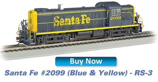 Santa Fe (Blue & Yellow) - RS-3