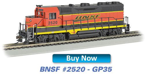 BNSF - GP35