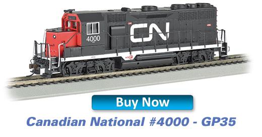 Canadian National - GP35