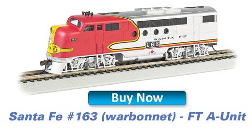 Santa Fe Warbonnet - FT- A Unit