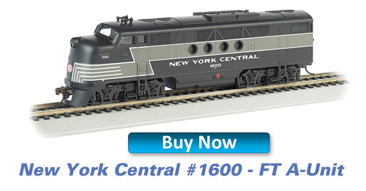 New York Central - FT A Unit