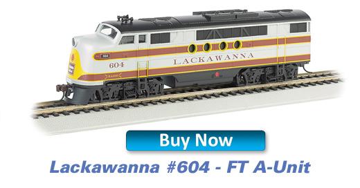Lackawanna - FT - A-Unit