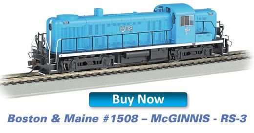 Boston & Maine 1508 McGinnis RS-3